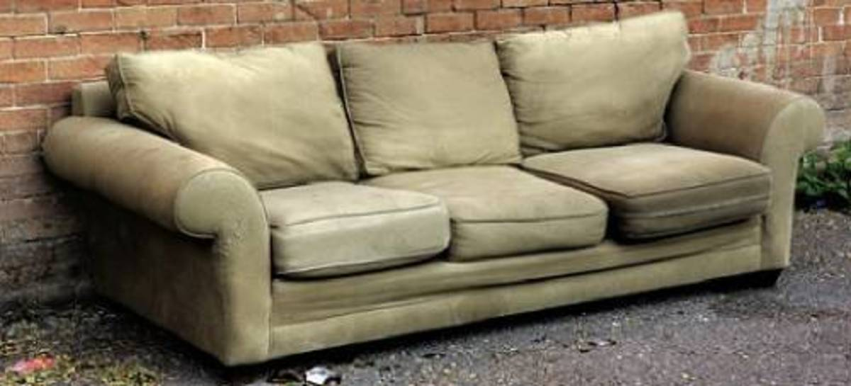 Ways To Get Rid Of Unwanted Furniture, How To Get Rid Of Old Sofa Bed
